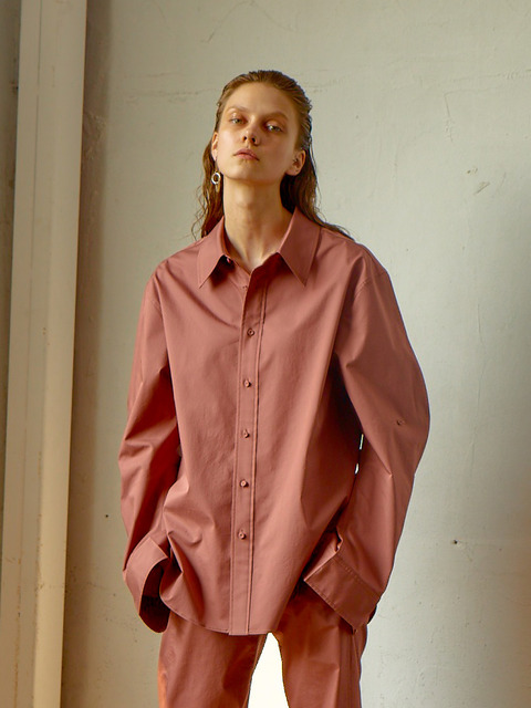 OVERSIZED MEN'S SHIRTS - BRICK