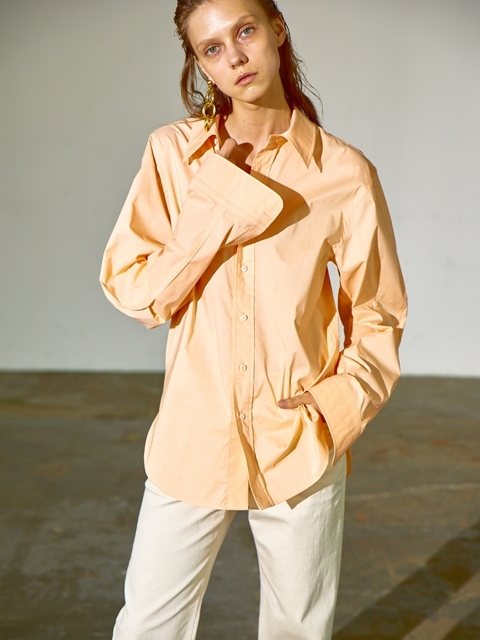 OVERSIZED MEN'S SHIRTS - ORANGE