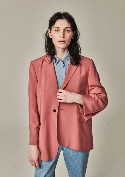 OLD MAN BLAZER - MARSALA