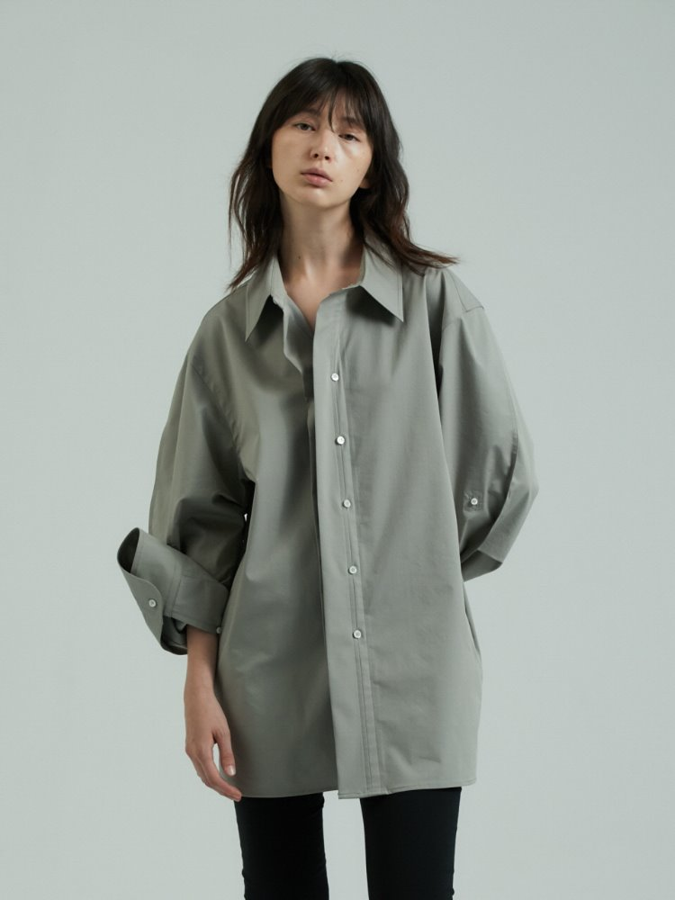 ROUND MEN'S SHIRTS - KHAKI